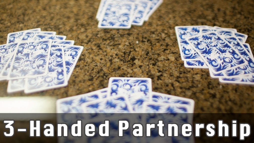 3 Handed Partnership Display