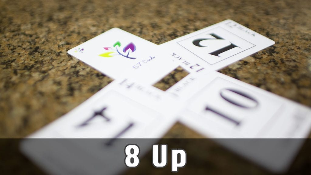 8-Up Card Game