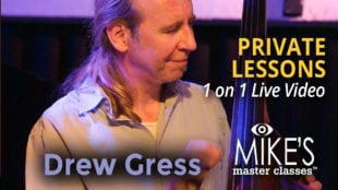 Drew Gress Private lessons