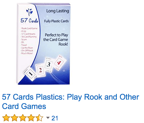 57 cards amazon deck